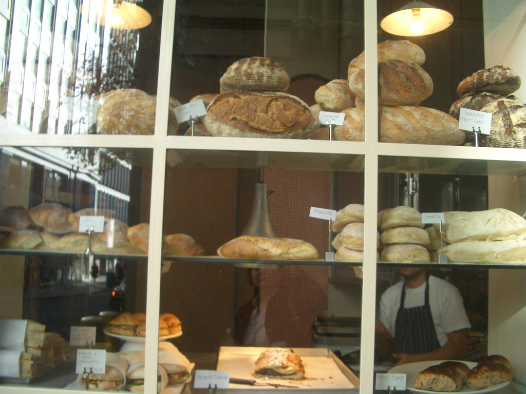 Bread at Commercial Bakery