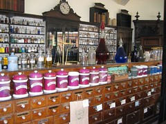 Inside the Chemist's Shop (D  a  v  e) Tags: pictures camera dave digital computer photography photo pix shropshire view image photos pics images ironbridge photographs photograph views directions info jpg jpeg information facts blistshill jpgs jpegs victoriantown picsof picturesof imageof photographof sumpner imagesof photographsof directionsto