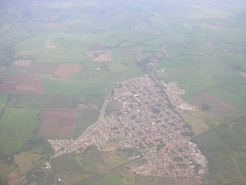 Bird's eye view of Colombia
