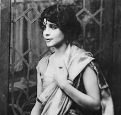 Rutten Bai Petit around the time she married Jinnah in 1918 (Doc Kazi) Tags: pakistan india muslim jinnah parsi dinshaw