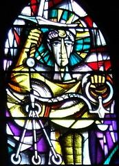 St Wulfram's Grantham N window