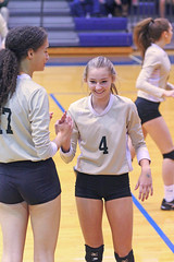 IMG_7936 (SJH Foto) Tags: girls volleyball high school york delone catholic team teen teenager substitution sub rotation