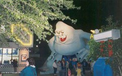 Miracle Strip Amusement Park Abominable Snowman at night (stevesobczuk) Tags: seaside florida amusementpark panamacitybeach miraclestrip redneckriviera abominablesnowman us98 valvalentine frontbeachrd