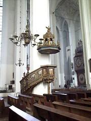 Gdask - wntrze Kocioa Mariackiego (LeszekZadlo) Tags: art church interior religion gothic poland polska gdansk danzig pomerania gdask pomorze oureurope