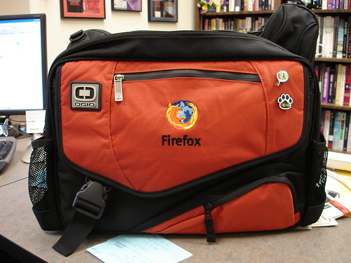 Firefox Messenger Laptop Bag