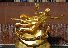 Prometheus in the Rockefeller Plaza