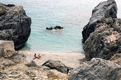 micro amoudi (harribobs) Tags: beach crete nudist
