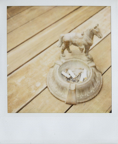 jason's :: horse ashtray