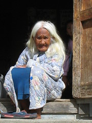 Oldest Woman in Town (Montaosa mon Amour) Tags: woman philippines culture oldwoman longevity oldpeople granny sagada mountainprovince mountainlife longlife igorots indigenouswoman flickrsbest ancientpeople