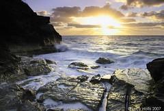 Spittal Pond (LucyBDA) Tags: longexposure morning motion sunrise dawn movement surf waves spray bermuda spittalpond