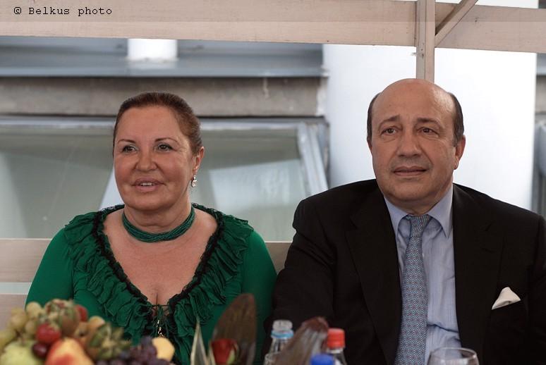 Министр Иванов с супругой