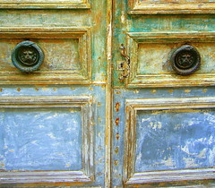 doors (overthemoon) Tags: door old paris france wow interestingness bravo paint sunday explore renovation gettyimages ilestlouis ouroboros doorknockers lionheads timeworn 5for2 bfv1 6setdoors 1j1t