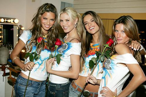 Adriana Lima,Heidi Klum,Alessandra Ambrosio,Gisele Bundchen