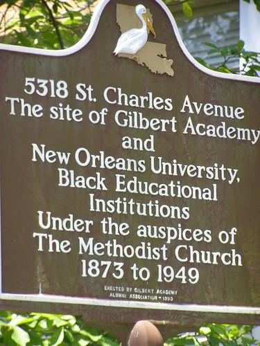 Gilbert Academy Sign