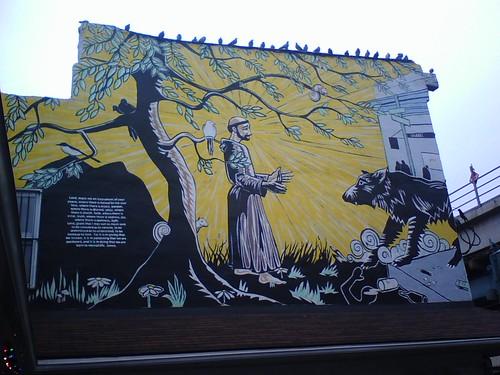 Mural @ St Francis Inn