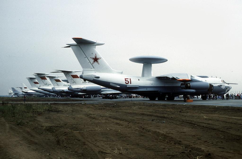 Ilyushin Il-76 'Mainstay' 51 (Red) Zhukovsky