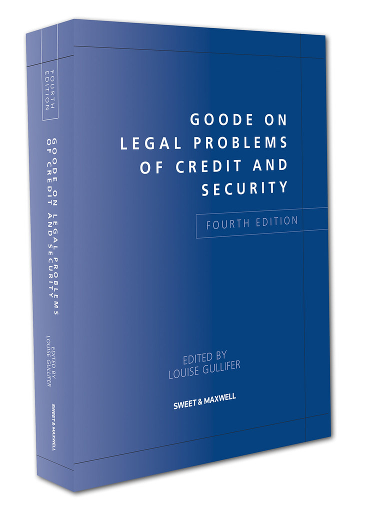 Goode on Legal Problems of Credit and Security. 4th edition.