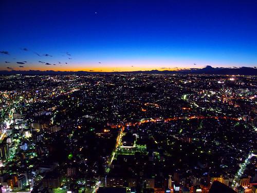 look at the Mt. Fuji area