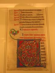 """Illuminated """"V"""" (The Loopweaver) Tags: nyc newyorkcity newyork art museum artmuseum metropolitanmuseumofart metmuseum thecloisters artmuseums medievalart"""