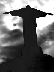 Christ the Redeemer (Trefrog66) Tags: brazil rio statue canon catholic janeiro christ symbol jesus icon powershot christian sacred christianity s400 redeemer
