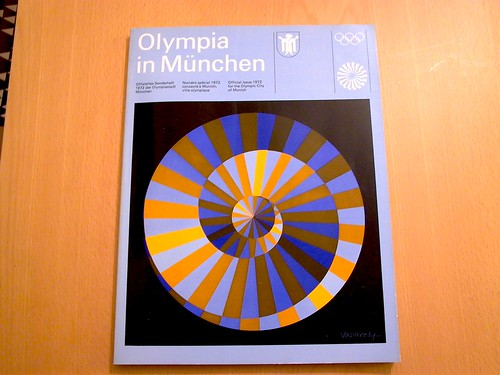 otl aicher visual communication - munich olympics - münchen olympia 1972 / scleroplex