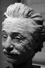 Einstein (desbah) Tags: blackandwhite bw sculpture einstein alberteinstein