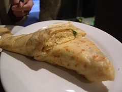 Egg, Swiss and Parsley Crepe - Aix Creperie