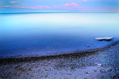 Fluid Ice (gallow_chris) Tags: longexposure lake rock escape oakville pol suckerfish nikoncapturenx chrisgallow oakvilleflickraddicts introducedcyntothemagicoflongexpousresandwater