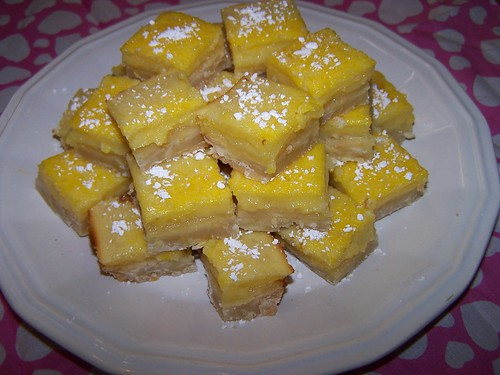 Yummy Lemon Lime Bars