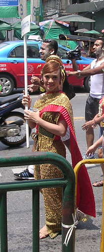 Songkran Parade Leader
