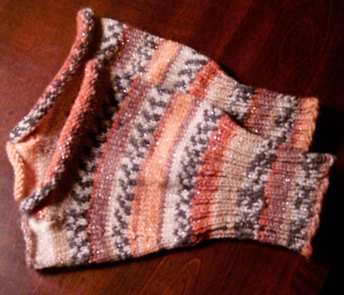 Sock Yarn Wrist Warmers