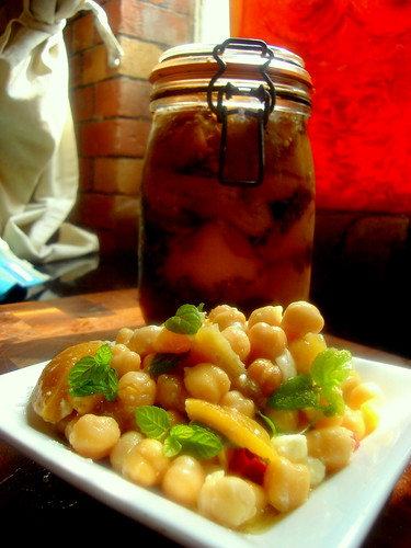 Chickpea & Preserved Lemon Salad