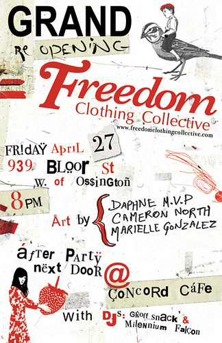 Freedom Clothing Party