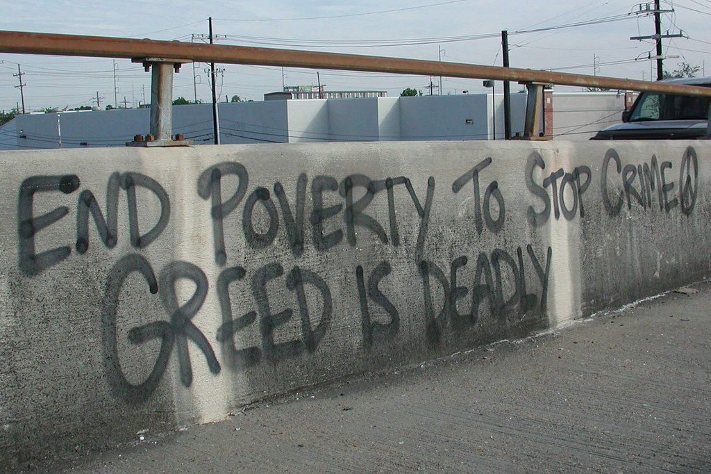 relationship between poverty and urban crime game