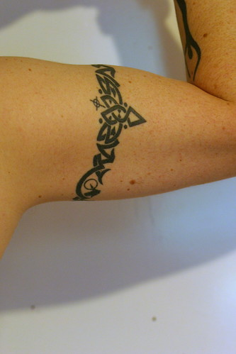 Tribal Arm Band. Custom tattoo design starting at $50.