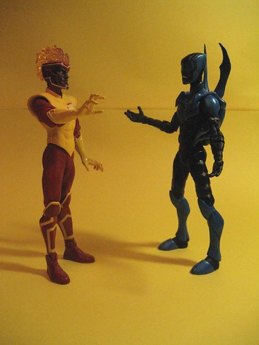 Firestorm and Blue Beetle