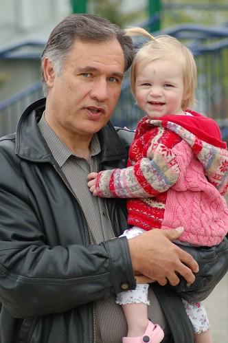 Grandpa Wolff & Hannah