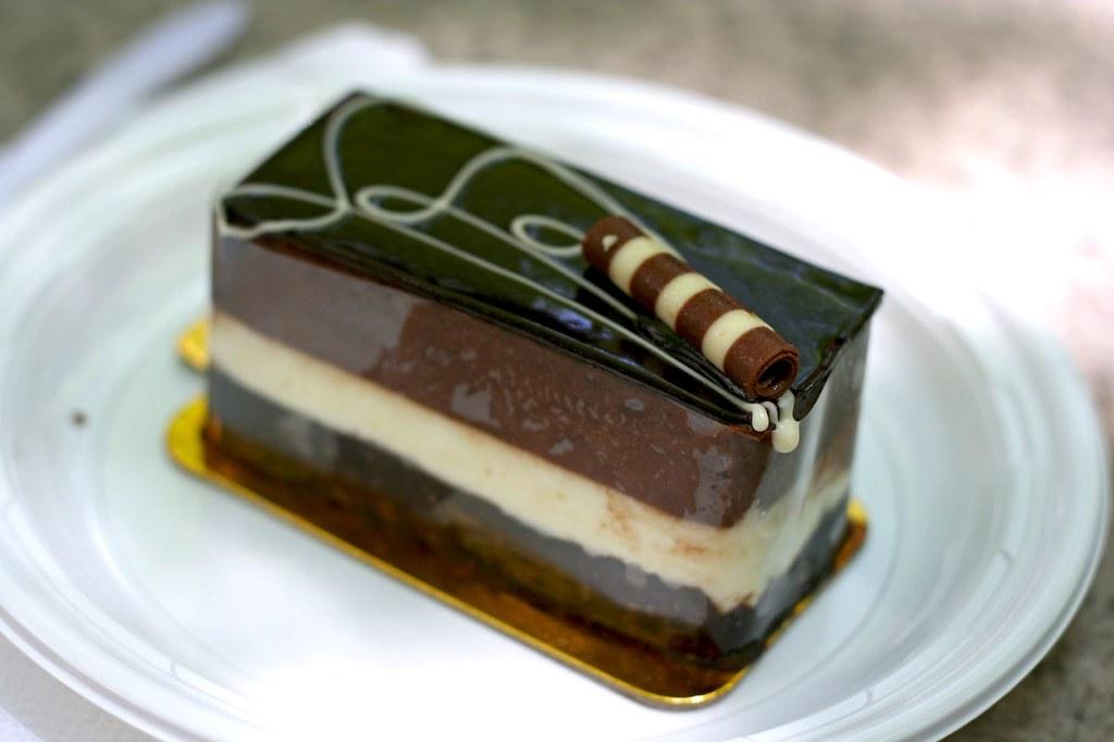 Chocolate Mousse Cake Slice of Chocolate Mousse Cake