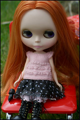 7/11 With a smirk on her face, Jules declared: (rockymountainroz) Tags: doll jules takara cwc americangirlplace rbl lastkiss squeakymonkey cocoshoes neoblythe betsyjean79
