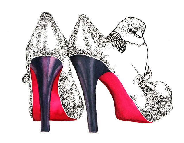 Louboutin bird