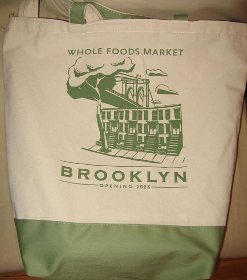 Whole Foods Brooklyn Bag