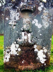 decay (annette62) Tags: woman grave carving gravestone crown churchyard crumbling chirnside