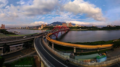 () (szintzhen) Tags:         bridge water sky cloud newtaipeicity taiwan photomerge