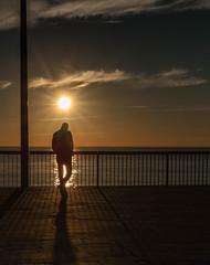 (Assun) Tags: desembre barcelona contrallum mediterrani mar