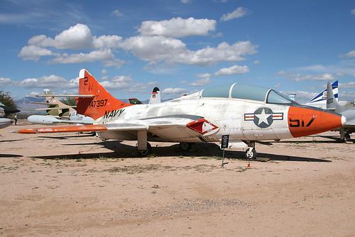 Warbird picture - Grumman F9F-8 Cougar # 147397
