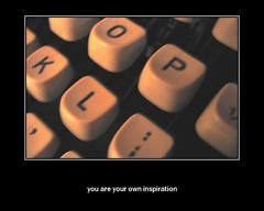 motivational poster (shine_so_cold) Tags: inspiration typewriter poster keys fdsflickrtoys motivational