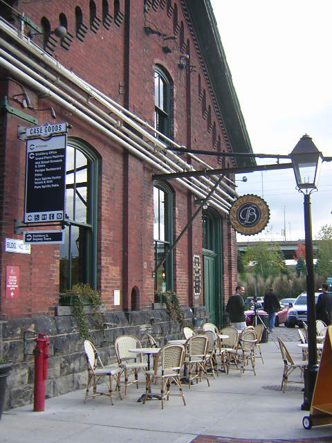 Balzac Cafe in the Distillery District