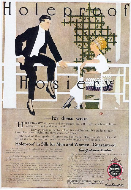 Holeproof Hosiery, 1911