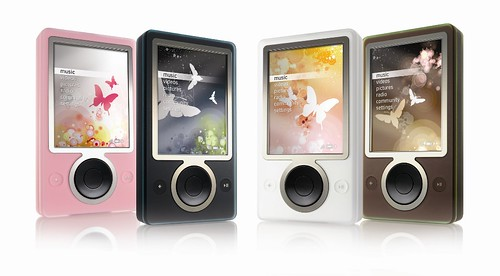 The Zune family