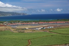 Kahului Airport after takeoff